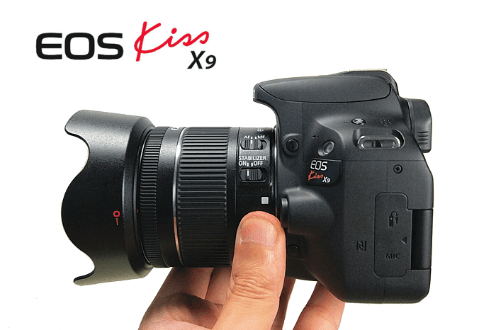 一眼レフカメラ、Canon EOS Kiss X9