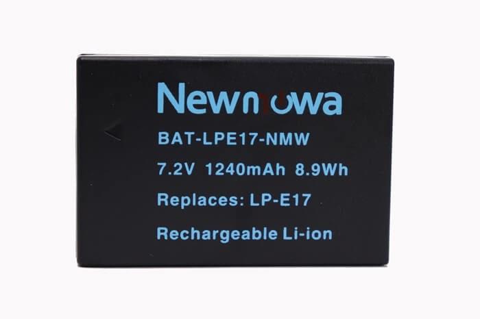 Newmowa 互換バッテリー LP-E17