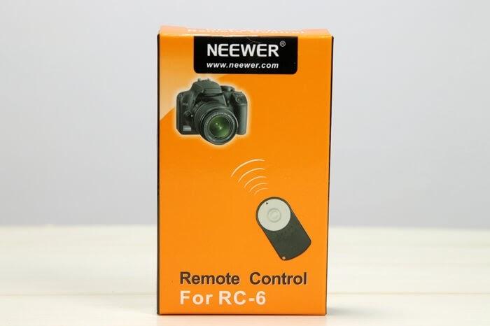 一眼レフカメラ用、赤外線リモコンRC-6の互換品