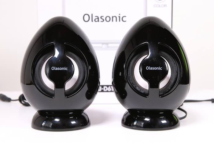 Olasonic(オラソニック)のスピーカー、TW-D6TVは卵型のフォルムが特徴