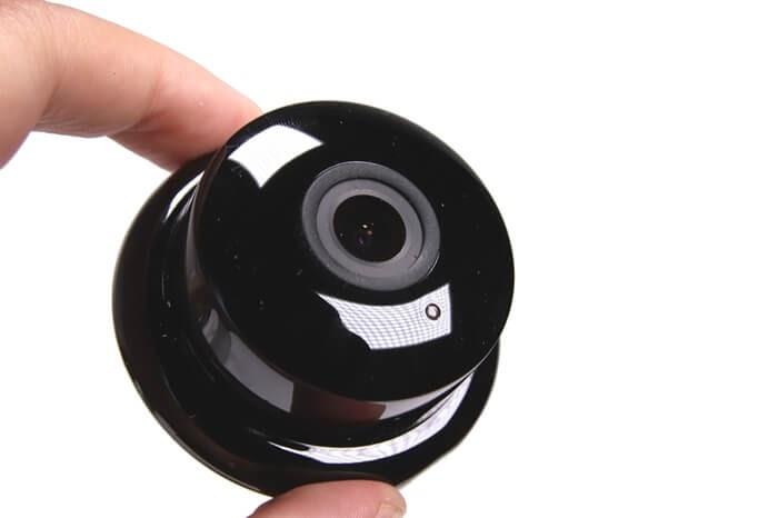 IPカメラ、YI ホームカメラの取り外したカメラ部分