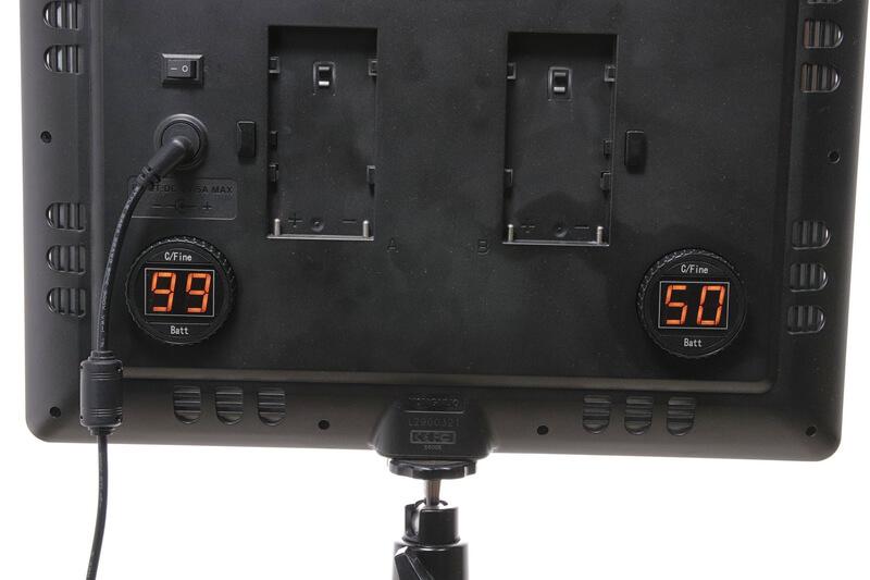 Yongnuo YN600 Airの操作面