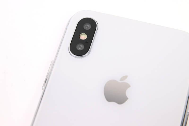 iPhone X、モックアップのメインカメラ