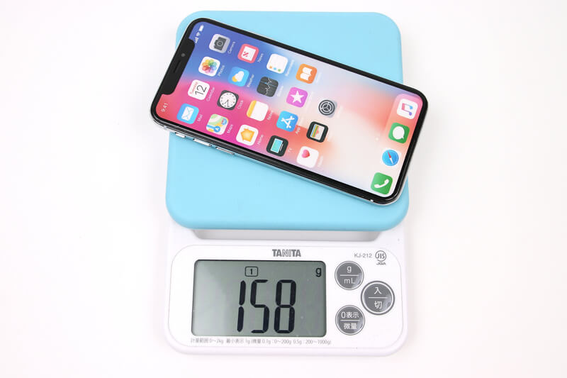 iPhone X、モックアップの実測重量、詳細は以下
