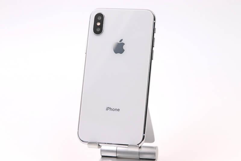 iPhone Xのモックアップ、裏面