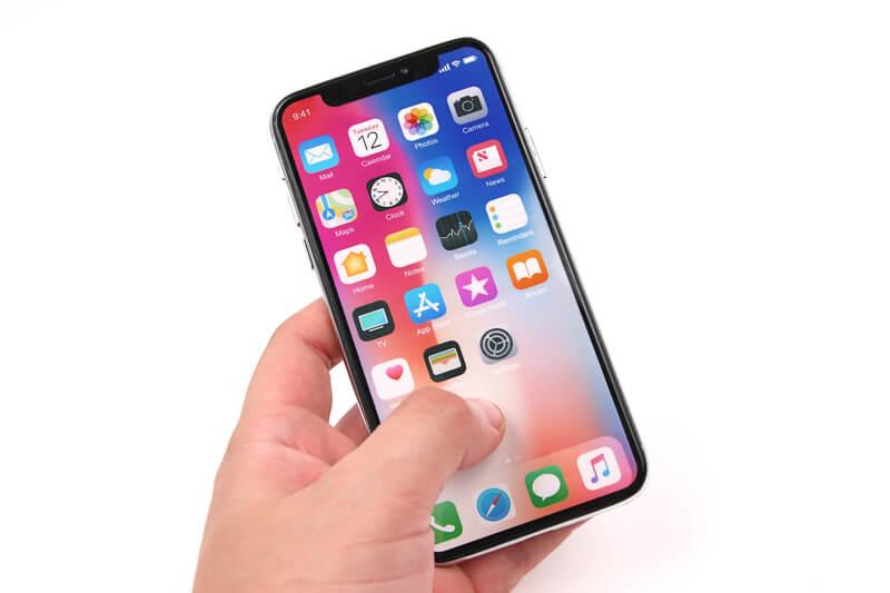 iPhone Xのモックアップ