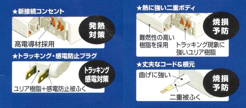Panasonic ザ・タップマルチシリーズの特徴