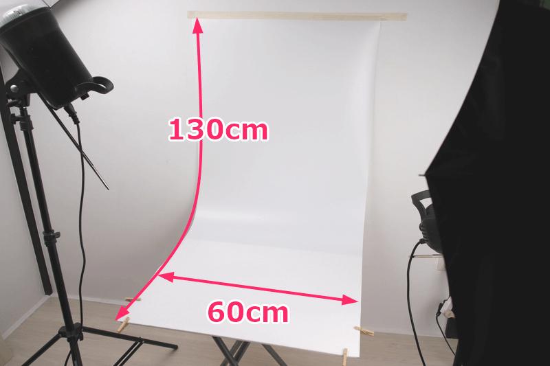 PVC背景布のサイズ
