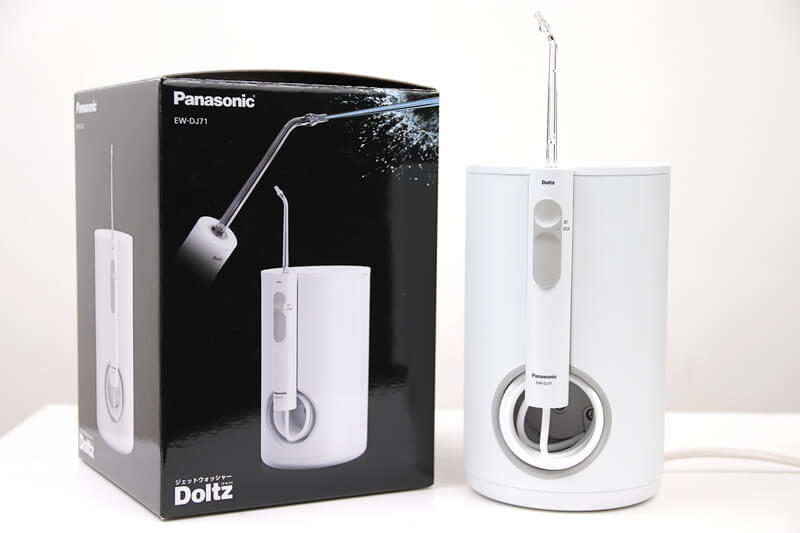 Panasonic ジェットウォッシャー EW-DJ71のパッケージ