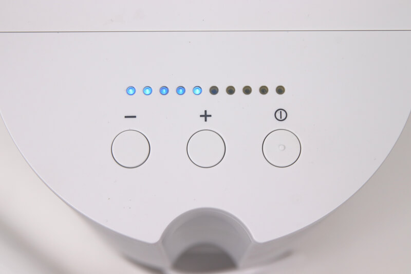Panasonic ジェットウォッシャー EW-DJ71、電源ボタンと強弱ボタン