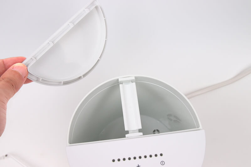 Panasonic ジェットウォッシャー EW-DJ71、タンクの上蓋