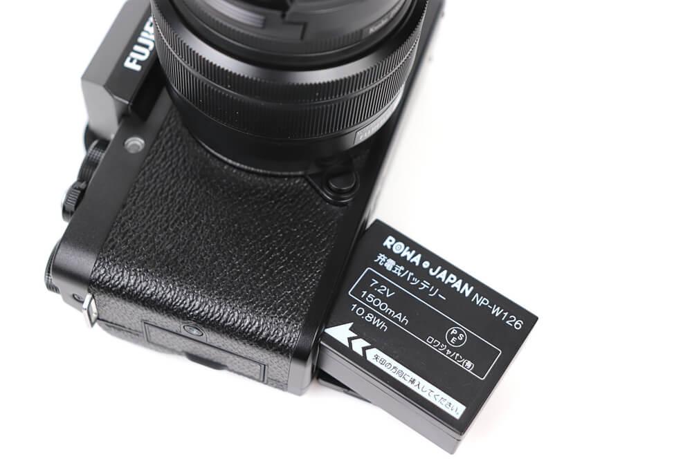 ロワジャパン NP-W126互換バッテリー