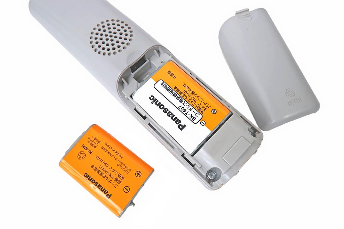 パナソニック BK-T407 コードレス電話機用バッテリー