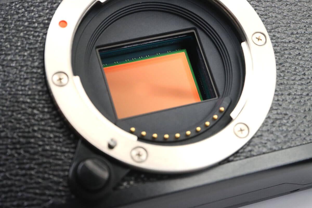 カメラのキタムラでセンサークリーニングしたミラーレスカメラのセンサー