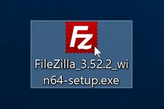 FileZillaのクライアントをインストールする