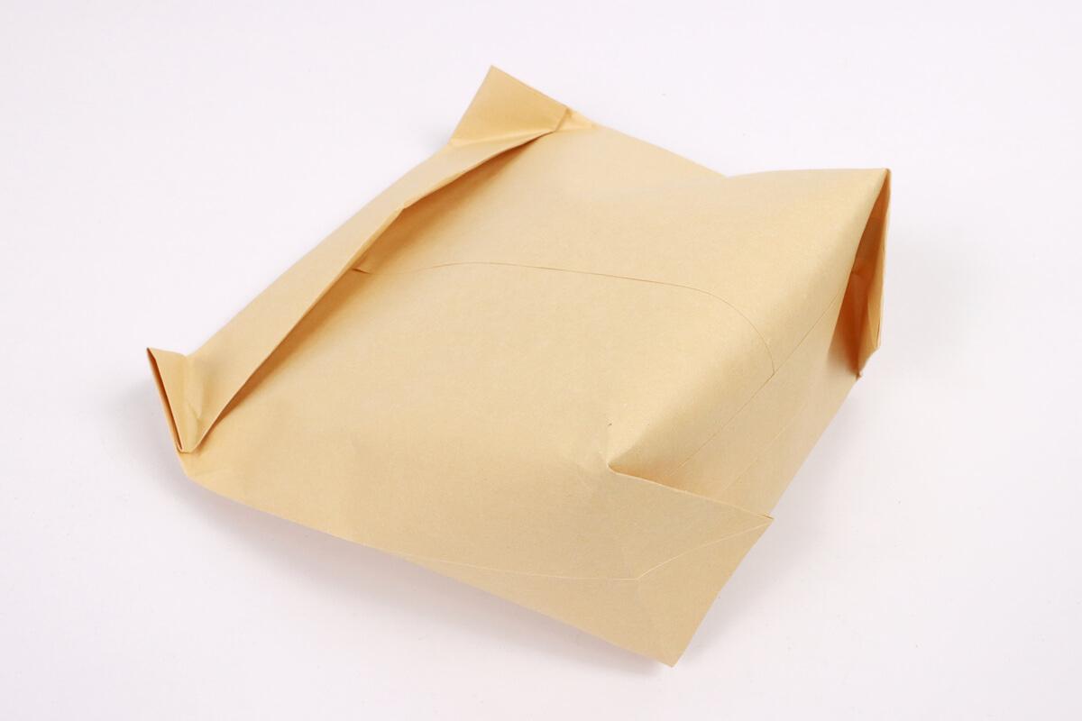 ポップコーン封筒の折り方